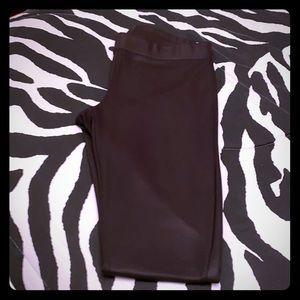 Small leather leggings